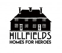 HOMES FOR HEROES Hillfields logo