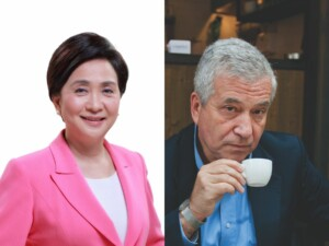 Emily Lau and Stephen Vines
