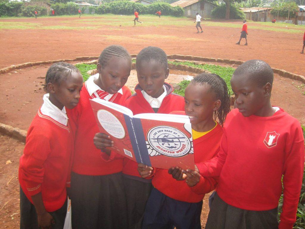 Pupils at Desai Memorial Primary School