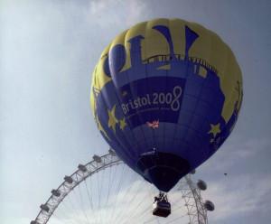 Capital of Culture bid campaign balloon
