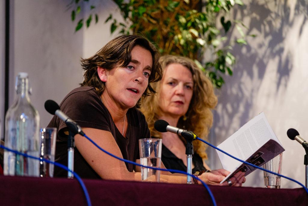 Natasha Carthew and Joan Smith
