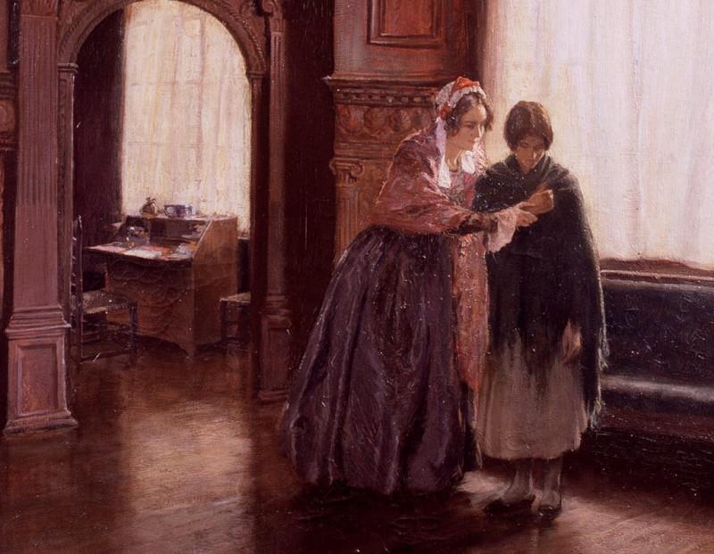 G E Butler's painting 'Mrs Mary Carpenter'
