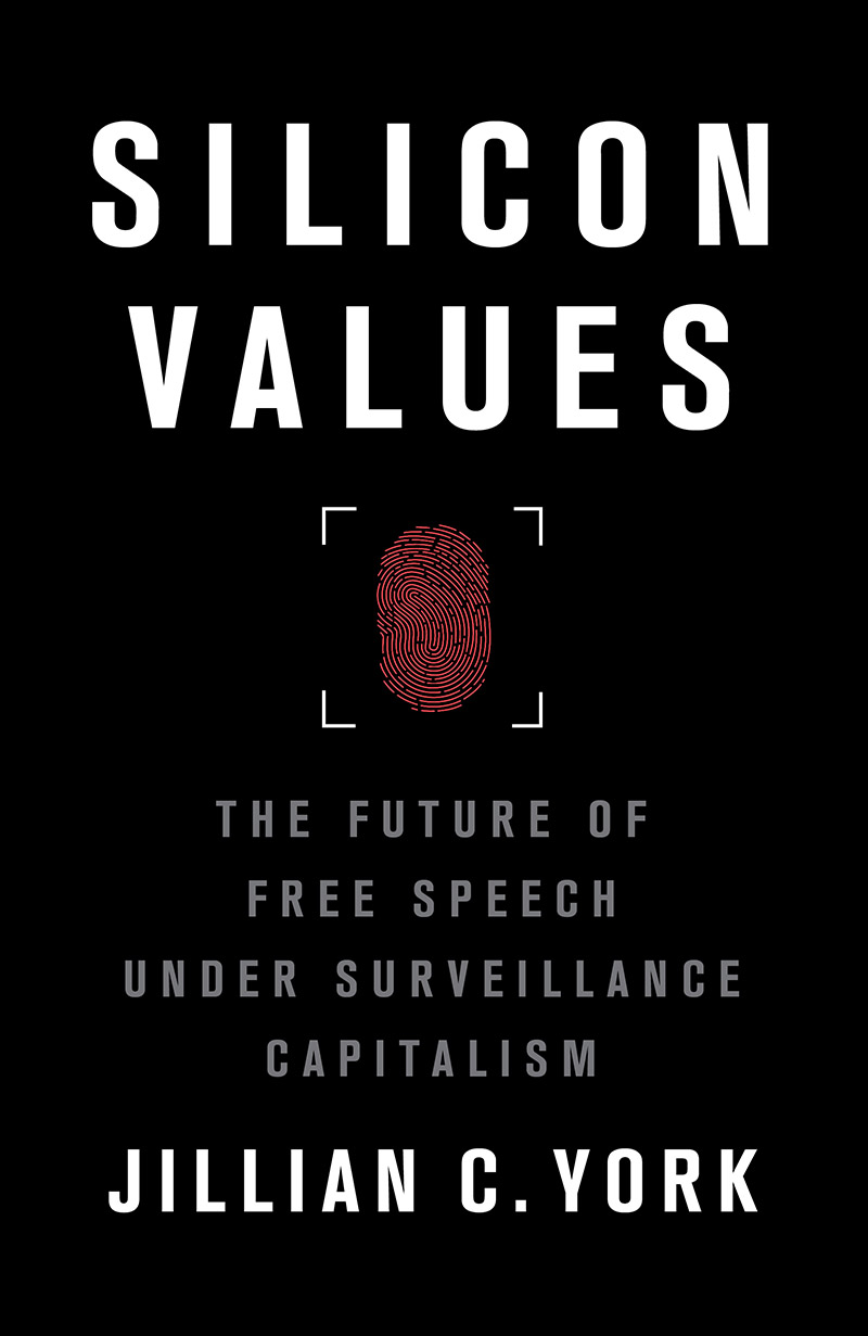 Book cover of Silicon Values by Jillian C York