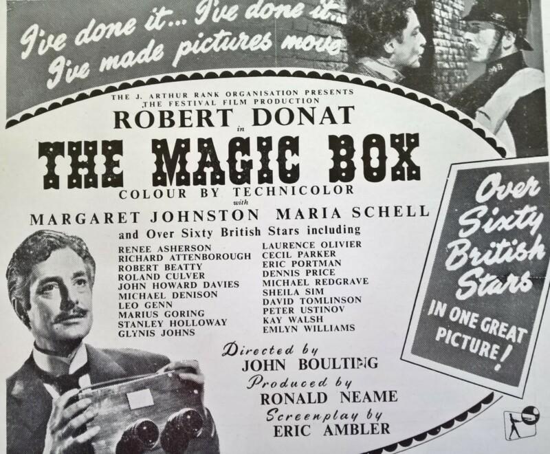 The Magic Box film poster