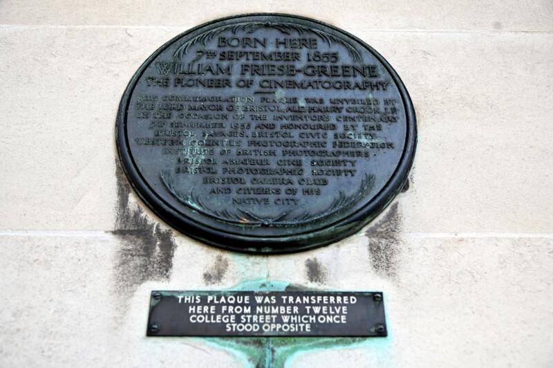 Plaque to William Friese-Greene