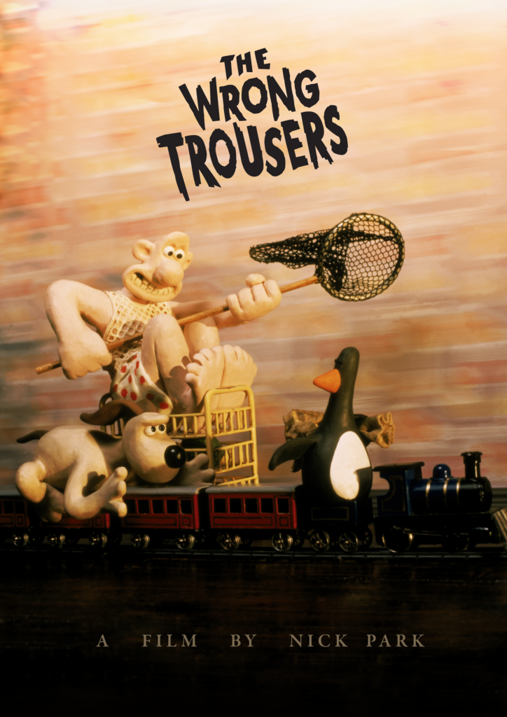 The Wrong Trousers poster