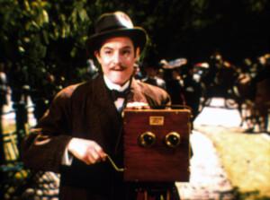 Still from the film The Magic Box