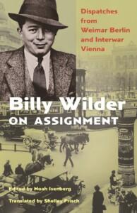 Billy Wilder book jacket
