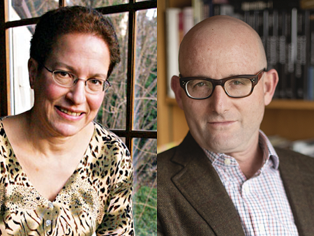 Shelley Frisch and Noah Isenberg