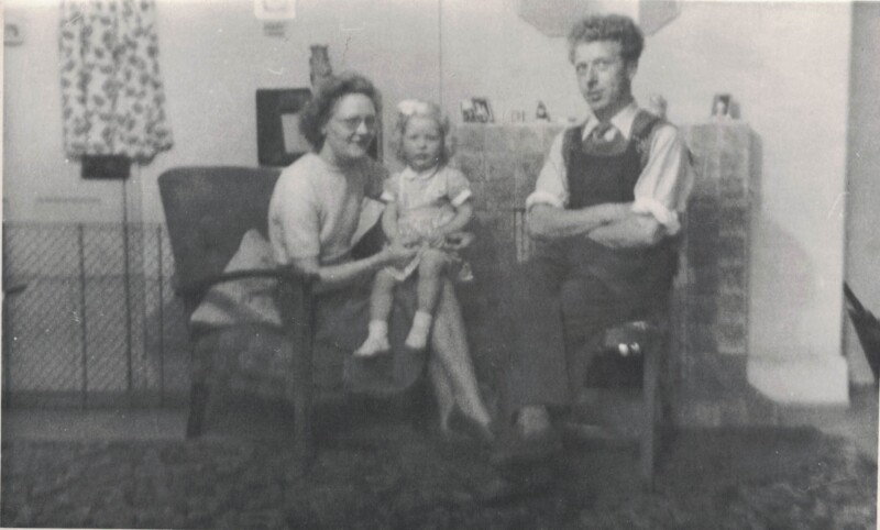 Joan Smith as a child