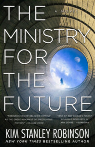 Book cover of The Ministry for the Future by Kim Stanley Robinson