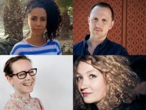 Oana Aristide, Thomas McMullan, Sian Norris and Rosa Rankin-Gee